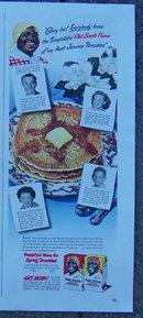 1948 Life Magazine Aunt Jemima Pancakes Ad