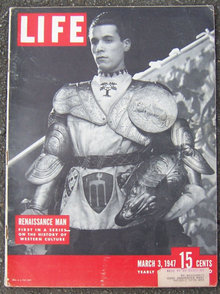 Life Magazine March 3, 1947 Renaissance Man Cover