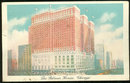 Postcard of The Palmer House, Chicago, Illinois 1943
