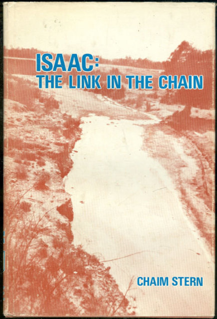 Isaac by Chaim Stern 1977 1st edition with DJ Fiction