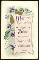 Eastertide Postcard to Bring You Peace and Hope