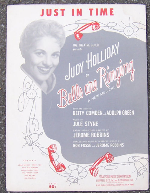 Just in Time From Bells are Ringing Judy Holliday 1956
