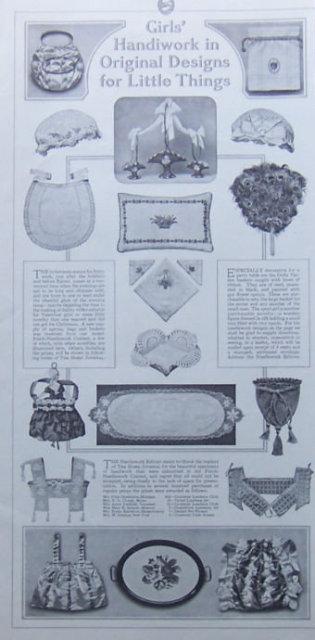 Girl's Handiwork in Original Designs 1917 LHJ Page