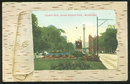 Postcard of Flower Beds Grand Avenue Park, Milwaukee WI