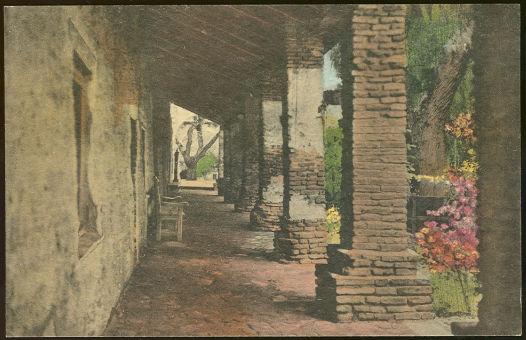 Barracks Corridor, Old Mission, San Juan Capistrano, CA