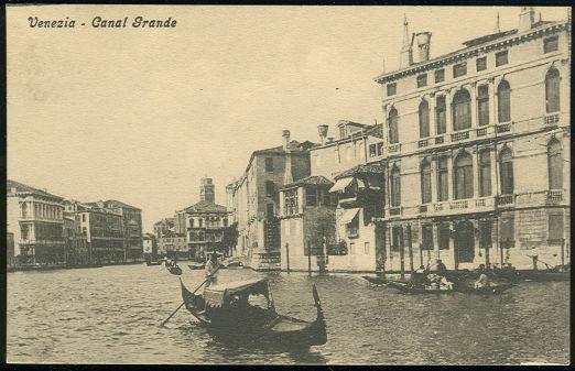 Postcard of Venezia, Italy, Canal Grande