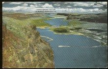 Postcard of Upper Grand Coulee, Washington State