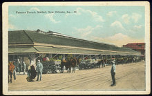 Postcard of Famous French Market New Orleans, Louisiana