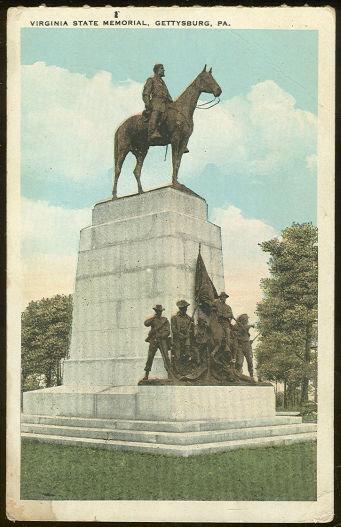 Virginia State Memorial, Gettysburg, Pennsylvania