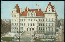 Postcard of State Capitol, Albany, New York