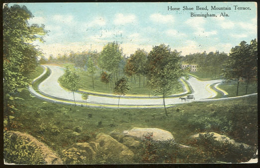 Horse Shoe Bend, Mountain Terrace, Birmingham, AL 1910