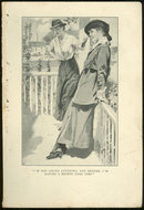 Book Illustration of Two Lovely Victorian Ladies