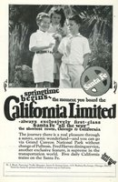 Santa Fe California Limited 1925 Advertisement