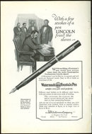 Waterman Ideal Fountain Pen 1925 Magazine Advertisement