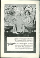 Whitman Wonderbox for Children 1925 Advertisement
