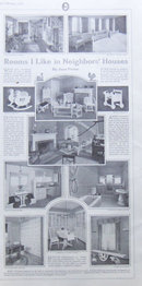 Rooms I Like in Neighbors' Houses 1917 LHJ Page