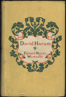 David Harum by Edward Noyes Westcott 1899 Fiction