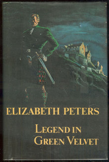 Legend in Green Velvet by Eliabeth Peters 1976 1st ed