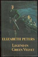 Legend in Green Velvet by Eliabeth Peters 1976 1st ed