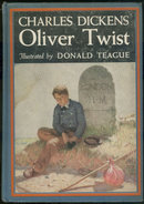 Oliver Twist by Dickens Illustrated by Donald Teague