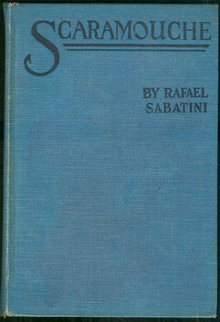 Scaramouche by Rafael Sabatini 1923 Photoplay edition