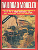 Railroad Modeler Magazine April 1972 Roscoe Mining RR