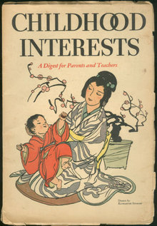 Childhood Interests Magazine July 1934 Summer Camp