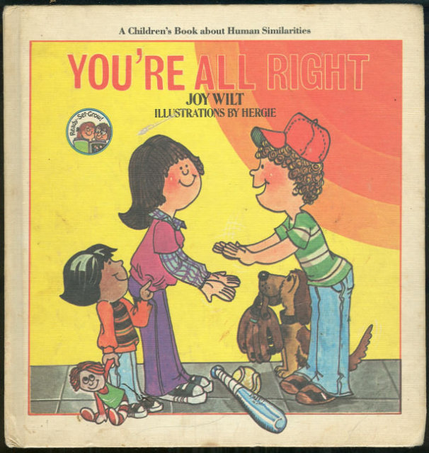 You're All Right by Joy Wilt Ready Grow Series 1981