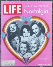 Life Magazine February 19, 1971 Nostalgia on cover