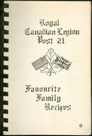 Royal Canadian Legion Post 21 Favorite Family Recipes