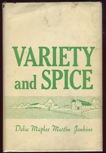 Variety and Spice by Delia Maples Martin Jenkins 1969