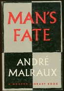 Man's Fate by Andre Malraux 1961 Modern Library w/ DJ