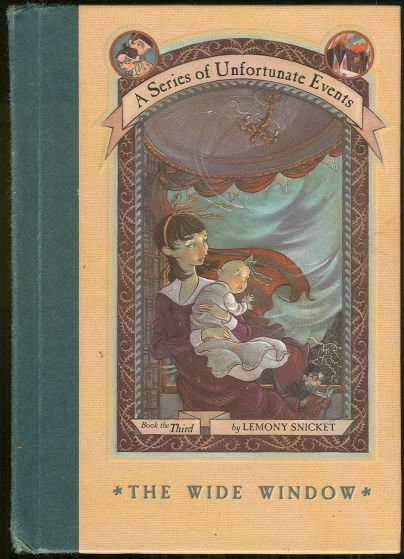 Wide Window by Lemony Snicket 2000 1st edition #3