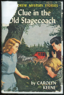 Clue in the Old Stagecoach Nancy Drew #37 1st ed DJ