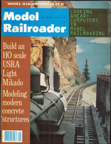 Model Railroader Magazine September 1977 Computers