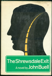 Shrewsdale Exit by John Buell 1972 1st edition with DJ