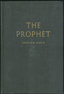 Prophet by Sholen Asch 1955 1st edition Fiction