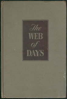 Web of Days by Edna Lee 1947 Novel