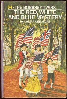 Bobbsey Twins Red White and Blue Mystery #64 Pictorial