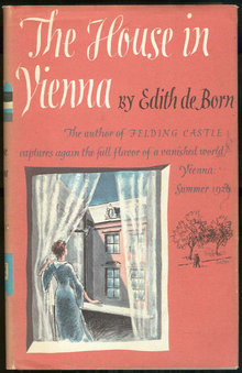House in Vienna by Edith De Born 1st edition with DJ