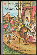 Bobbsey Twins Country Fair Mystery #15 Pictorial Cover