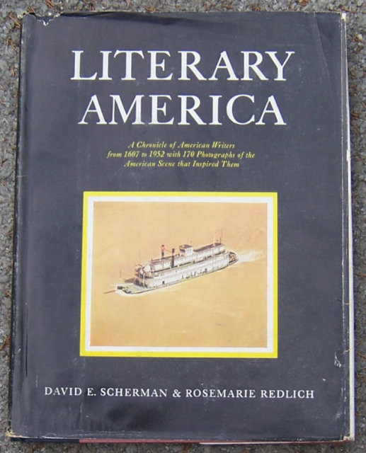 Literary American A Chronicle of American Writers 1952