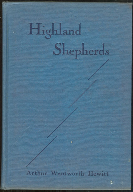 Highland Shepherds Rural Pastorate by Arthur Hewitt