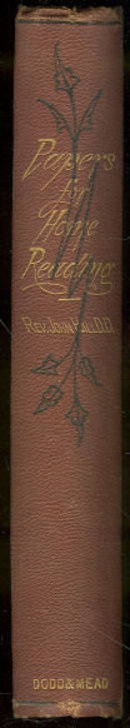 Papers For Home Reading by Rev. John Hall 1871 1st ed