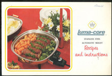 Luma-Core Stainless Steel Automatic Skillet Recipes