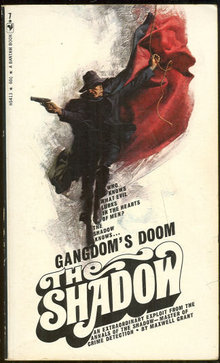 Gangdom's Doom Signed by Maxwell Grant The Shadow #7