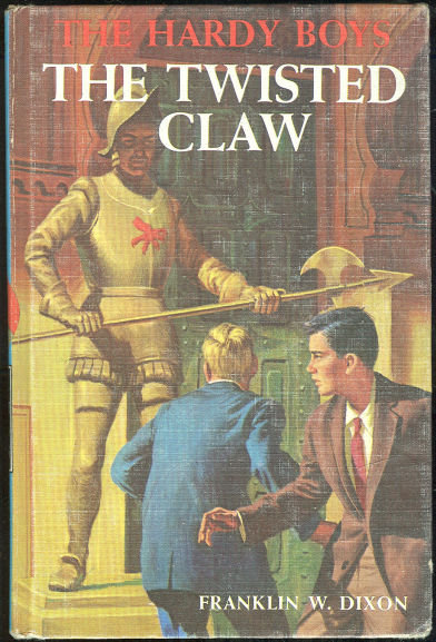 Twisted Claw Hardy Boys #18 Matte Blue Cover 1939