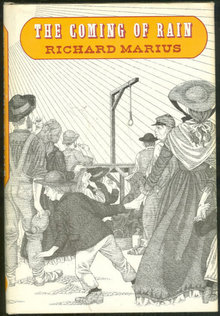 Coming of Rain by Richard Marius 1969 1st ed with DJ