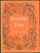 Everyday Trees by Gertrude Allen 1968 Everyday Nature