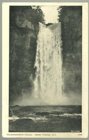 Postcard of Taughannock Falls Near Ithaca, New York